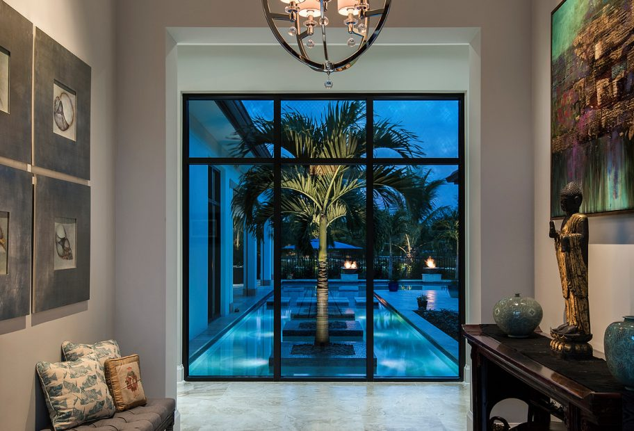 Entry View to Pool