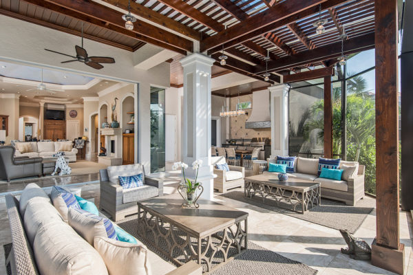 Outdoor Living to Family Room