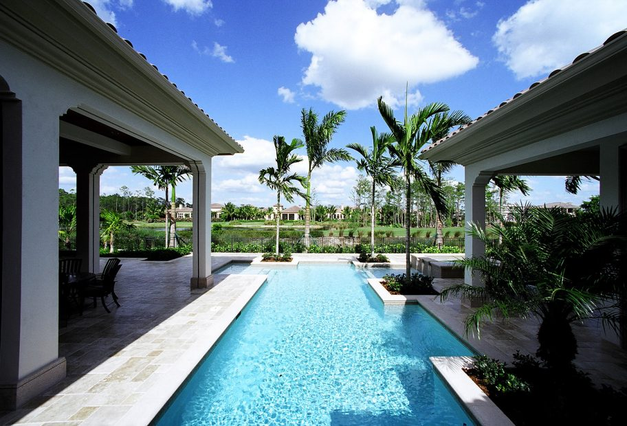 Pool with View to Golf Course