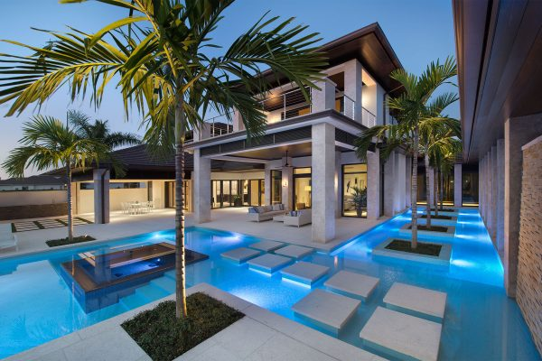 Contemporary In Estuary Harwick Homes - Contemporary-west-palm-beach-property