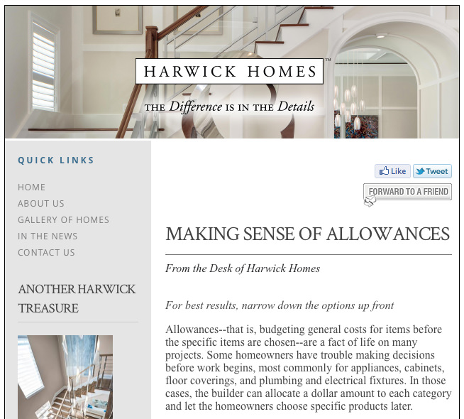 Harwick Homes - Luxury Home Builder - Naples Florida