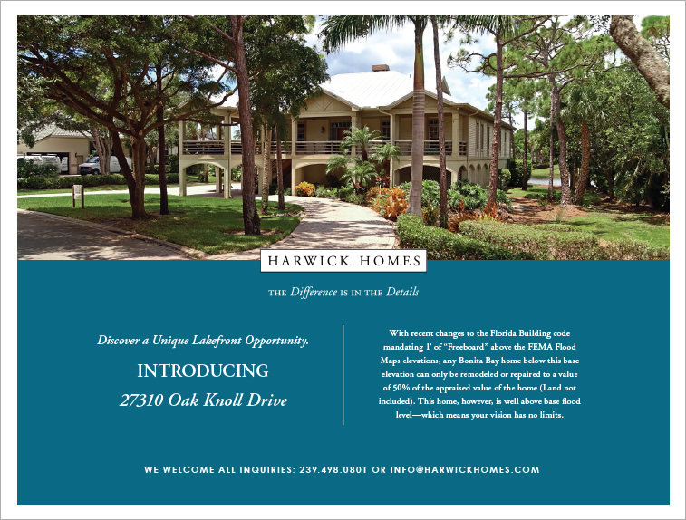 Harwick Homes - Oak Knoll Flyer