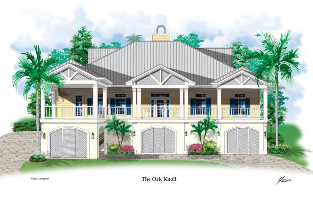 27310 Oak Knoll Proposed Front Elevation