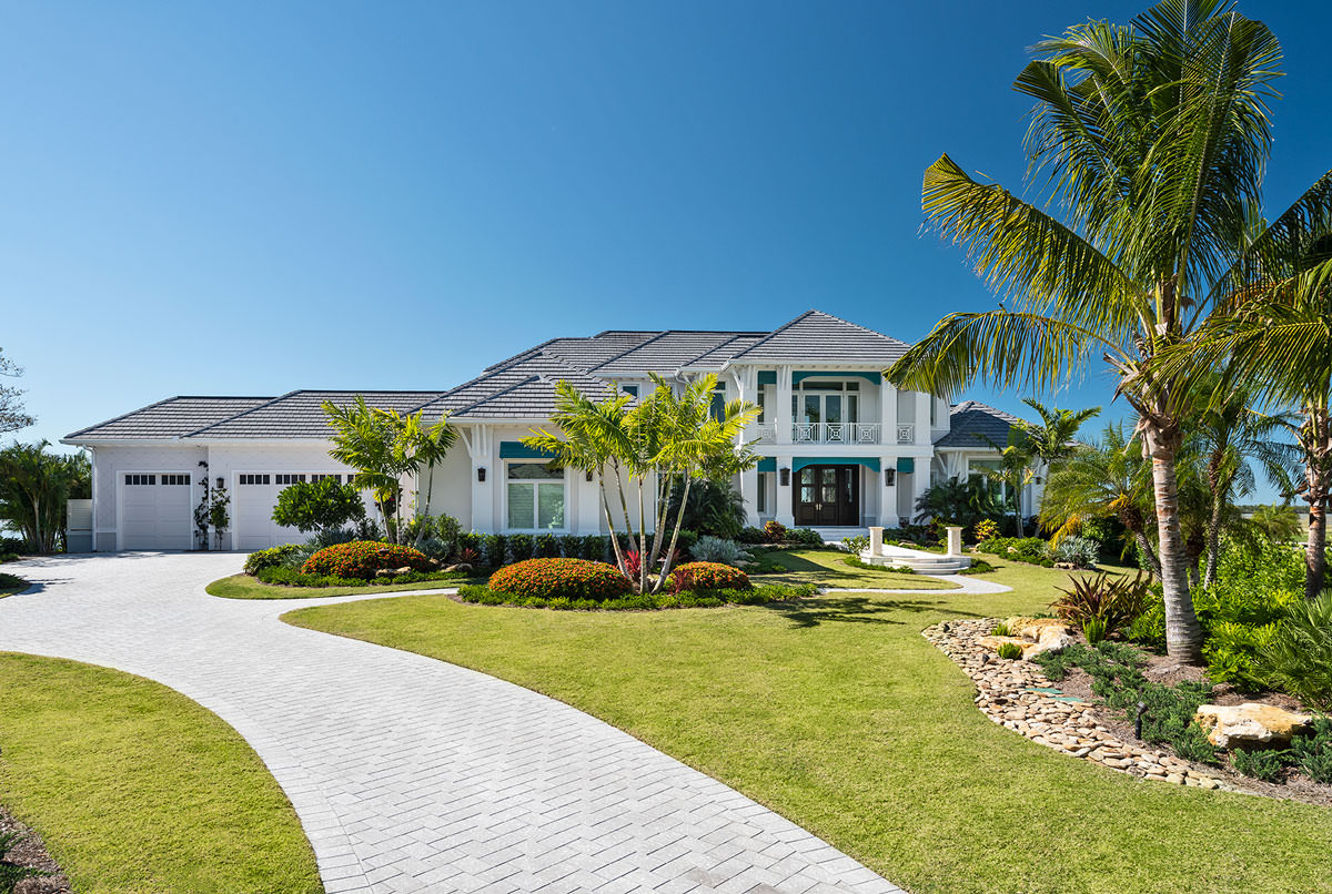 New Estate in Marco Island by Harwick Homes