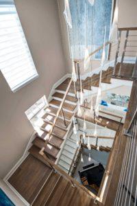 Renovation Spotlight Stairwell Harwick Homes